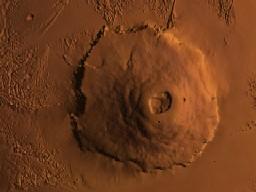 火星のオリンポス山 だいぶズーム